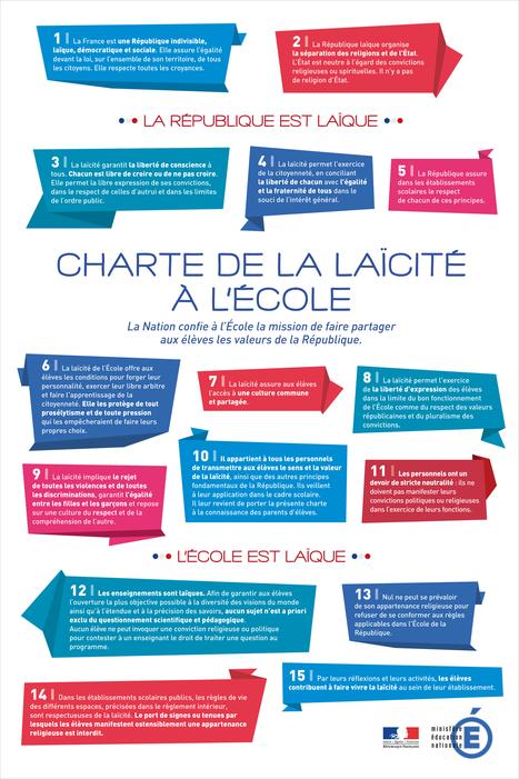 Charte de la laïcité à l'Ecole | Veille CDI | Scoop.it