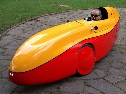Low-tech Magazine: Electric Velomobiles: as Fast and Comfortable as Automobiles, but 80 times more Efficient | Sustain Our Earth | Scoop.it