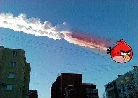 Pluie de météorites en Russie : Les détournements des internautes en images - Galeries Fail/Win/OMG   Insolite, Weird News   Scoop.it