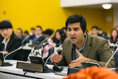 YES Alumnus presents Pakistan at the United Nations Annual Youth Assembly | iEARN in Action | Scoop.it