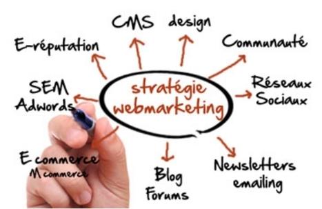 Exemple d'intégration de contenu dans sa straté... | Social media, curation | Scoop.it