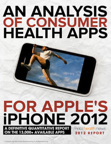 An Analysis of Consumer Health Apps for Apple's iPhone 2012 | mobihealthnews | Progress in Mobile Health | Scoop.it