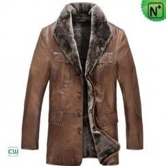 Winter Sheepskin Shearling Coat for Men CW86880 | Men's | Scoop.it