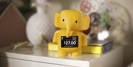 This adorable piggy bank of the future doesn't actually hold any coins | L'internet des objets communicants et connectés | Scoop.it