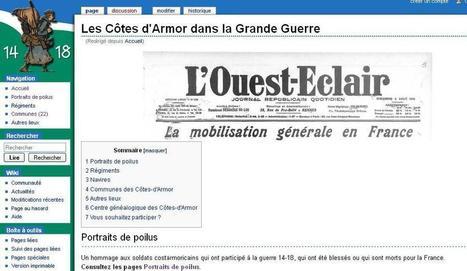 Site du jour (132) : Les Côtes d'Armor dans la Grande Guerre | GenealoNet | Scoop.it
