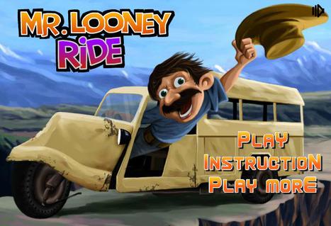 Mr Looney Ride - Play Your Best Racing Games On toonkaboom.com | Racing Games | Adventures Games | Avatar Games | Scoop.it