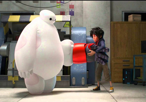 Big Hero 6: Trailer for Disney's new Marvel-inspired movie released   Young Adult Movies   Scoop.it