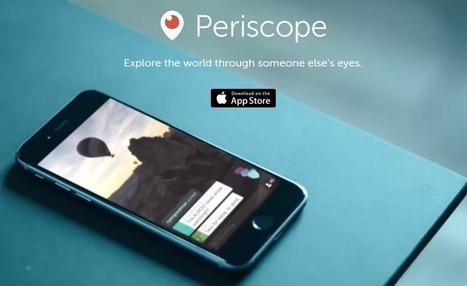 Des idées pour utiliser l'application Periscope en éducation | Édulogia | Numérique & pédagogie | Scoop.it