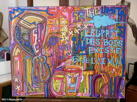 L'esprit des bois by Tarek | Tarek artwork | Scoop.it