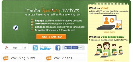 Voki | Web 2.0 Top Ten Tools for Language Teaching and Learning | Scoop.it