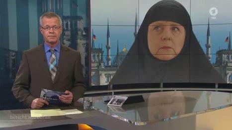 Merkel en burqa : scandale en Allemagne | utopies investigations | 694028 | Scoop.it