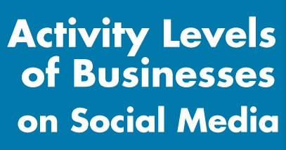 Activity Levels of Businesses on Social Media [Infographic] | Exploring Social Network | Scoop.it