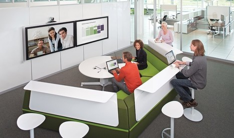 Steelcase's Brilliant Workstation For Staging Virtual Meetings | Work Environments For the 21st Century | Scoop.it