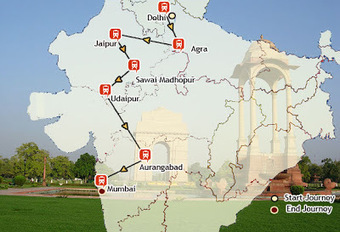 The Indian Maharaja Deccan Odyssey Train: The Indian Maharaja Route Map | Collection of memorable moment photos on Deccan Odyssey Luxury train | Scoop.it