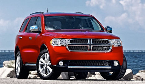 """Dodge recalls 2013 Durango over """"incorrect seating capacity information labels""""   Concept Cars, and new arrivals   Scoop.it"""
