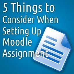Moodle Assignment Checklist | List of students | Scoop.it