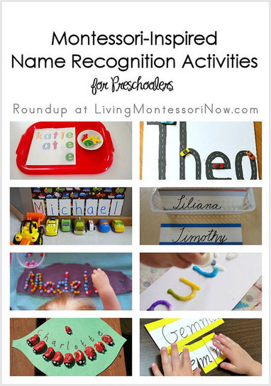 Montessori Monday – Montessori-Inspired Name Recognition Activities for Preschoolers | Montessori Inspired | Scoop.it