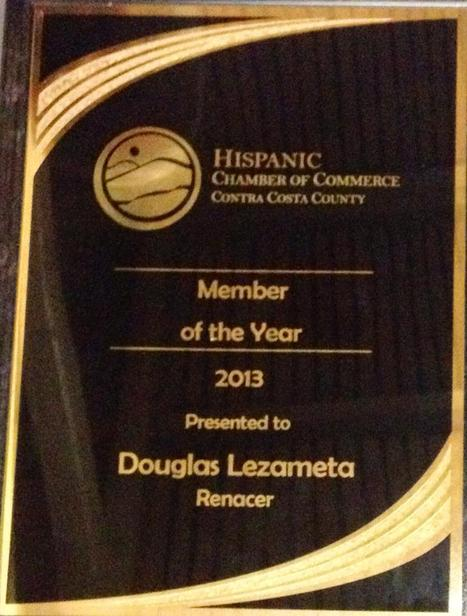 Member of Year 2013 Contra Costa Hispanic Chamber  of Commerce | Sustainable Business in the World | Scoop.it