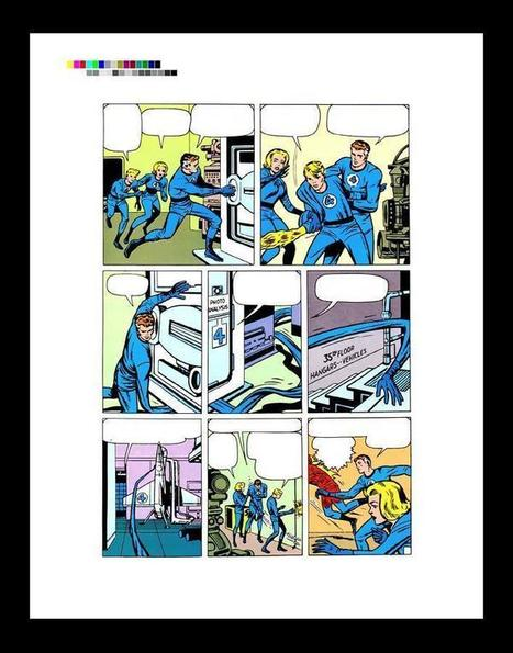 "Jack Kirby Fantastic Four #10 Rare Production Art Pg 2 | Jack ""King"" Kirby 