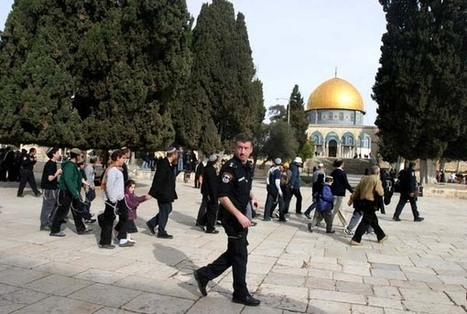 Israeli army secures safe passage for Jewish extremists in Al-Aqsa Mosque | Occupied Palestine | Scoop.it