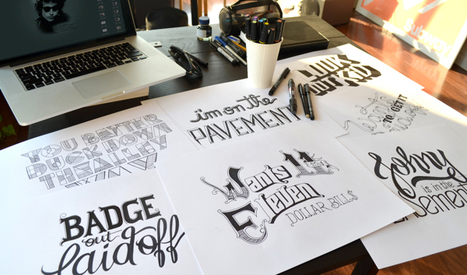 15 Beautiful hand lettering | Webdesign Glance | Scoop.it