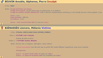 Oh mes Aieux...: GénéaCrimes et GénéaDécès | GenealoNet | Scoop.it