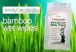 100 % BAMBOO ANTI BACTERIAL WET WIPES NO CHEMICALS 8 PACKS | Bamboo based products | Scoop.it