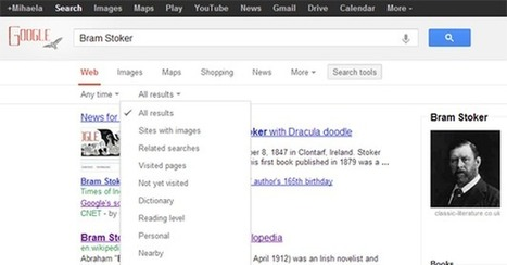 Google Search page, new face | ZipMinis: Science of Blogging | Scoop.it