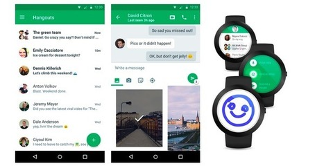 Google Hangouts: now simpler, faster, more beautiful | Android Apps in Education | Scoop.it