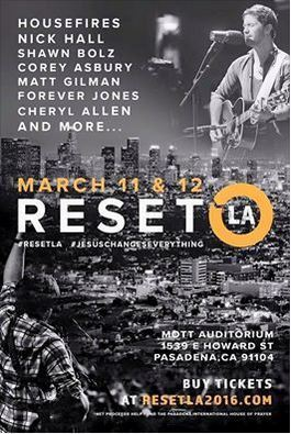 RESET LA: March 11 & 12 ~ Mott Auditorium, Pasadena | CityReaching | Scoop.it