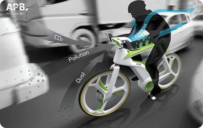 Esta #bicicleta conceptual es capaz de purificar el aire | Deporte sostenible UNDAV | Scoop.it