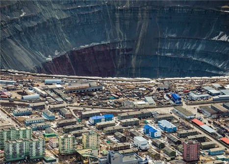 These photos will show you just how big a Russian diamond mine can be   Sustain Our Earth   Scoop.it