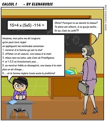 La classe de français: Problèmes à l'école? Quelles solutions? Activité en classe autour de deux histoires BD | FLE en ligne | Scoop.it