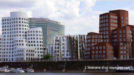 Düsseldorf / Hafen - L'itinéraire d'un voyageur | rakarekodamadama | Scoop.it