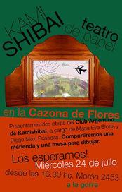 Club Argentino de Kamishibai: Kamishibai en la Cazona de Flores | animación a la lectura | Scoop.it