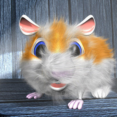 Hamster cartoon 3D | 3D Library | Scoop.it