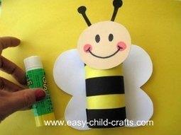 Preschool Spring Crafts | bee | Scoop.it