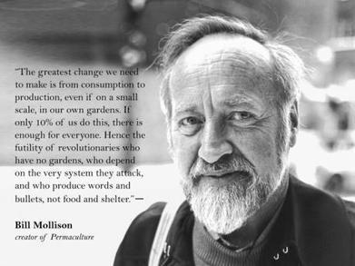 Bill Mollison: The Birth of a Global Movement | Permaculture Magazine | Permaculture - [creatively] re-design our communities, environment and our behavior | Scoop.it