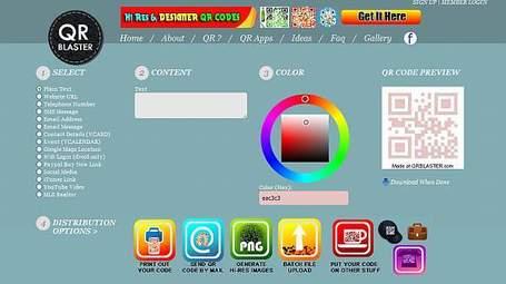 QRBlaster – genera tu código QR y promociónalo | Realidad Aumentada | Scoop.it