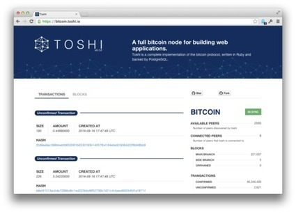 Introducing Toshi - An Open Source Bitcoin Node For Developers | Peer2Politics | Scoop.it