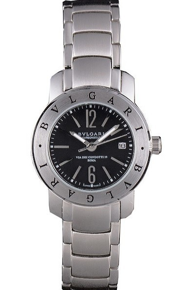Replica Bvlgari Bvlgari 27mm Black Dial Stainless Steel Case Ladies Watch | Men's & Women's Replica Watches Collection Online | Scoop.it