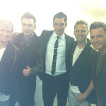 Last nite ever of Westlife in uk ... Me and the boys back stage ... Emotional folks ! Bring on Croker !!! - via @PaulMartin | English Learning House | Scoop.it