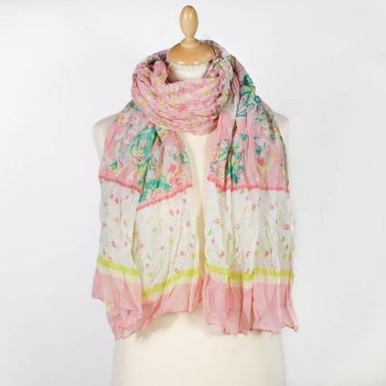 Grand foulard impression liberty pastel   Accessoires de mode femme   Scoop.it