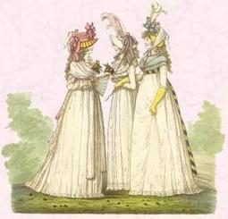 Regency Fashion History 1800-1825 | Beautiful Pictures Empire Line Dresses | Jane Austen's Era Attire | Scoop.it