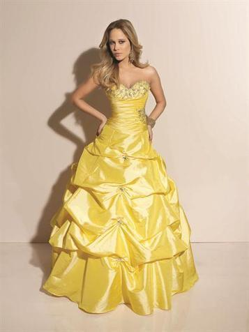 Ball Gown Sweetheart Taffeta Floor-length Sleeveless Crystal Detailing Quinceanera Dresses at pickedlooks.com | Quinceanera Dresses 2014 | Scoop.it