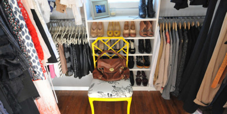 9 Gorgeous Closets That Show The Glam Side Of Organization (PHOTOS) - Huffington Post | Best Home Organizing Tips | Scoop.it