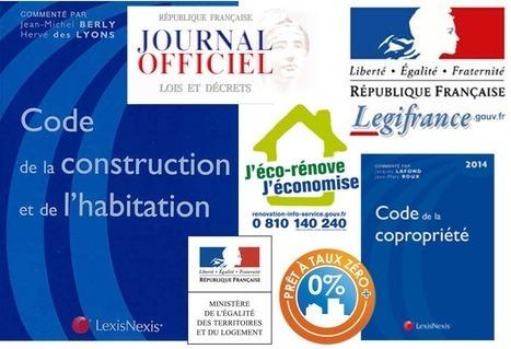 Retrouvez dans cette rubrique, notre veille des textes officiels pour les secteurs du logement et de l'habitat | Règlementation [juridique, fiscale et financière] dans le domaine du logement | Scoop.it