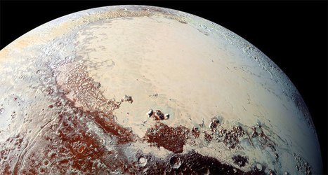 A mighty salty ocean could lurk beneath Pluto's icy heart | Amazing Science | Scoop.it