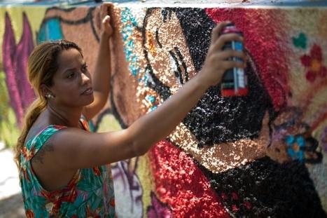 Rio : l'endroit rêvé pour le street-art?   Amérique Latine : entre croissance et territoires en marge, une zone au développement inégal.   Scoop.it