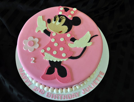 Mini Mouse Birthday Cake | Custom Cakes for You | Scoop.it